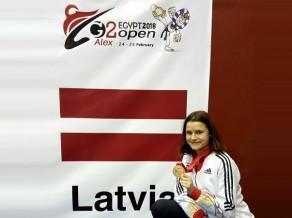 Inese Tarvida pārspēj olimpisko vicečempioni un triumfē Āfrikā