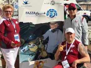Paralimpiešiem trīs zelti vieglatlētikas sezonu atklājošajās sacensībās Dubaijā