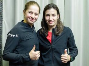 """Latvijas izlase veic lielu kāpumu """"Fed Cup"""" rangā"""