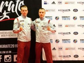 Karatists Membo paliek soli no augstas vietas Eiropas čempionātā