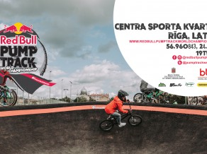 "Rīgā notiks ""Red Bull Pump Track World Championship"" posms"