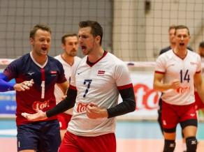 Latvijas izlasei Sudraba līgā bronzas spēle pret Maķedoniju