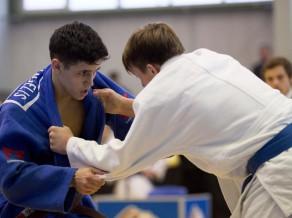 Džudistam de Angelisam devītā vieta Eiropas kadetu čempionātā