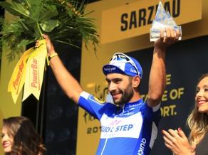 """Skujiņam 140. vieta """"Tour de France"""" ceturtajā posmā, otro uzvaru svin kolumbietis Gavirja"""