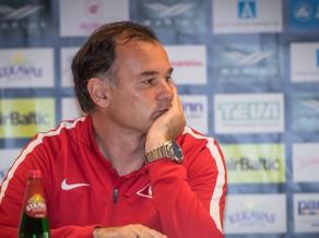 """""""Spartaka"""" treneris Grišins: """"Serbiem ir stipra komanda, bet cīnīsimies par uzvaru"""""""