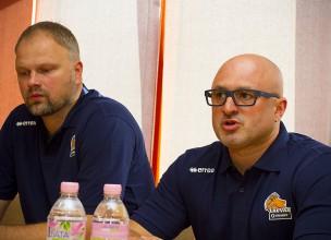 """""""Liepāja""""/""""Triobet"""" jaunajā sezonā cer iekļūt starp labākajām četrām Latvijas komandām"""