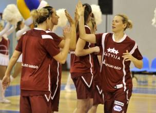 """""""FIBA Europe"""" spēka rangā Latvijas sievietes pozicionētas 17. vietā"""