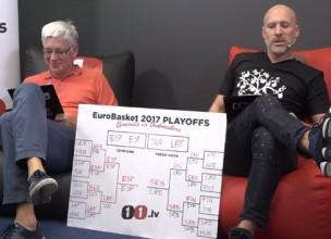 Video: Ģenerālis un Bukmeikers vērtē Latvijas izlases sniegumu un prognozē