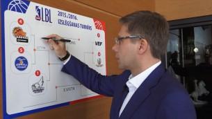 Video: Aldaris LBL: kādu sniegumu Nils Ušakovs prognozēs VEFam?