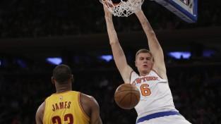 """Porziņģa rekordu vakarā """"Knicks"""" atkal piekāpjas """"Cavaliers"""""""