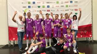 Latvijas florbola komanda cīnās Pasaules ziemas spēlēs