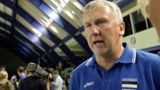 Latvijas izlase Eiropas čempionāta atlasē spēlēs pret Kēla dzimteni Igauniju