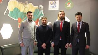 Gorkšs un Verpakovskis ar Lietuvas futbola prezidentu apspriež kopīgas līgas izveidi
