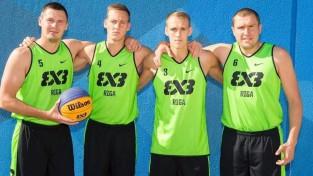 """Rīga Ghetto Basket"" 3x3 basketbola komanda iekļūst ""Challenger"" 1/4 finālā"