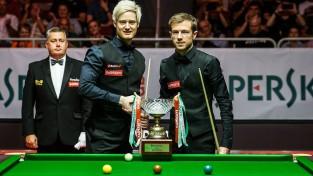 Robertsons otro reizi karjerā triumfē Rīgas turnīrā