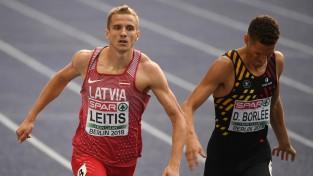 Ārents un Leitis uzvar Pērnavā, tāllēkšanā otrās vietas, šķēpmetēji pieticīgi