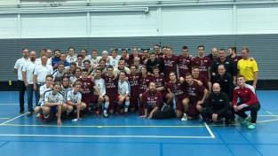 Latvijas vīriešu izlase pieveic somu juniorus