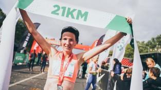 Prokopčuka triumfē arī Latvijas čempionātā pusmaratonā