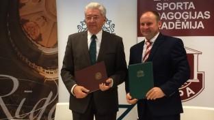 RTU un LSPA apvieno spēkus zinātnē, lai Latvijas sportisti būtu labākie pasaulē