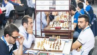 Vīru izlase uzvar Kirgizstānu šaha Olimpiādes priekšpēdējā kārtā