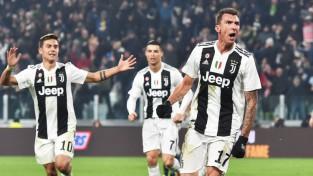 """Mandžukičs nokārto """"Juventus"""" minimālu uzvaru pār """"Inter"""""""