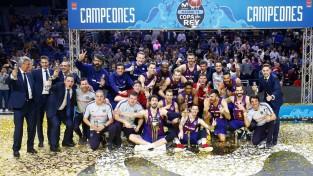 """Šmita pārstāvētā """"Barcelona"""" izcīna Karaļa kausu"""