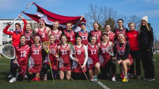 Latvijas sieviešu lakrosa izlase izcīna ceturto vietu turnīrā Jelgavā