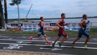 Daņila Proščenko uzvar Latvijas čempionātā triatlona supersprintā
