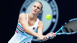 """Pliškova ar sezonas ceturto titulu kvalificējas """"WTA Finals"""""""