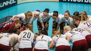 Dāmām cīņa par vietu pusfinālā, tiešraide Sportacentrs.com TV