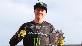 Mairis Pumpurs izcīna 3.vietu starptautiskās motokrosa sacensībās Francijā