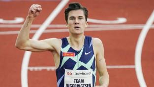Mērķis sasniegts: Jākobs Ingebrigtsens labo 35 gadus veco Eiropas rekordu