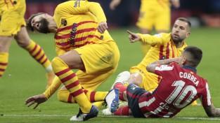 """""""Barcelona"""" līderim Pikē nopietna trauma, divus mēnešus nespēlēs arī Roberto"""