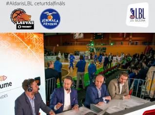 Video: Tiešraide: Aldaris LBL playoff: Liepāja/Triobet - Jūrmala/Fēnikss 85:63