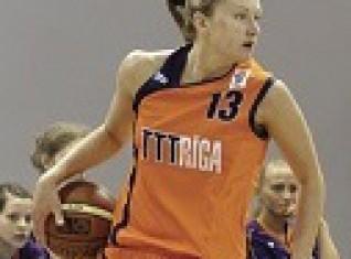 """Līga Piļkeviča, RSU2:  Decembra  MVP """"Jaunajā sieviešu basketbola līgā"""""""
