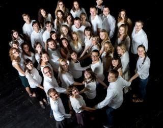 """Latvijas Kultūras akadēmijas jauktā kora """"Sōla""""  svētku koncerts """"Sapņu tālumā"""" Rīgas Sv. Pētera baznīcā"""