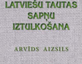 Apgādā AVOTS izdotas grāmatas par sapņu tulkošanu un sēņošanu