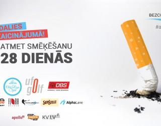 Aicina smēķētājus pieteikties bezmaksas atmešanas atbalsta grupai tiešsaistē