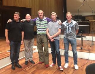 Vasks, Maijers un LNSO apvienojas LV100  veltīta CD tapšanā