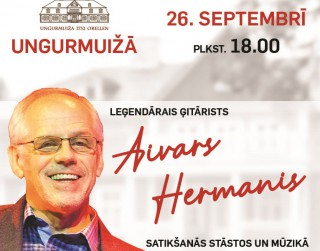 Koncerts-tikšanās ar Aivaru Hermani