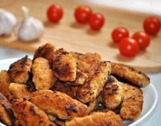 Maltās gaļas un auzu pārslu kroketes