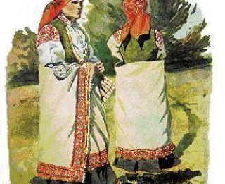 Foto: Latviešu tautas tērps – latviešu kultūras piemineklis.