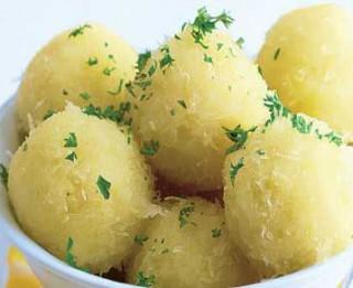 Kartupeļu klimpas