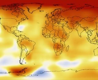 2014. gads bija siltākais kopš 1880. gada