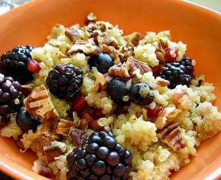 Brokastīs –  kvinoja