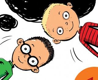 Jauna grāmata bērniem no Čehijas - Punktinieki