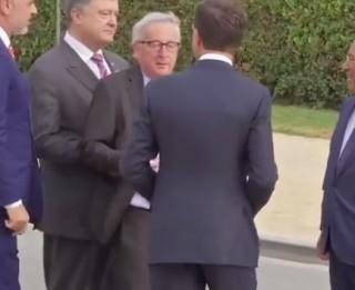 Video: Esam drošībā! EK prezidents Junkers ietenterē NATO samitā