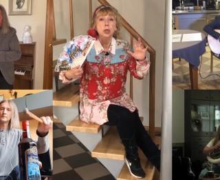 """Video: """"Pērkons"""" ieraksta video """"Trakais Bēthovens un draugi – rekviēms Covid op.19"""""""