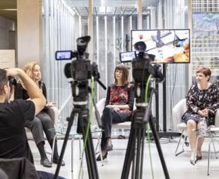 """Video: Prezentēts video projekts """"Mākslas restaurācija muzejā"""""""