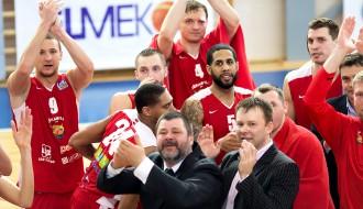 """Foto: Asinis un uzvaras prieks - """"Jēkabpils"""" iesoļo pusfinālā"""